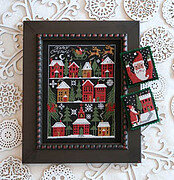Happy Christmas - Cross Stitch Pattern