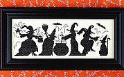 Halloween Season of the Witches - Cross Stitch Pattern