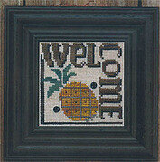 Welcome To Our Home: Welcome - Cross Stitch Pattern