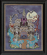 Castle Le Creep - Cross Stitch Pattern