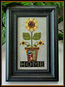 Home is Where the Sunflowers Grow - Cross Stitch Pattern