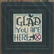 Welcome To Our Home: Glad You Are Here - Stitch Pattern