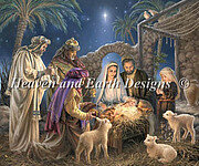 Nativity, The - Cross Stitch Pattern