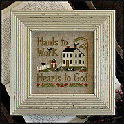Hands to Work - Cross Stitch Pattern