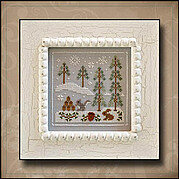Frosty Forest 4 - Snowy Friends - Cross Stitch Pattern