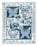 Butterfly Bliss - Cross Stitch Pattern