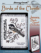 Birds of the Month January (Black Capped Chickadee)