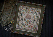 Elizabeth Sarah Oliver 1842 - Cross Stitch Pattern