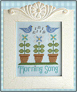Morning Song - Cross Stitch Pattern