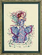 October Opal Fairy - Cross Stitch Pattern