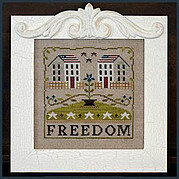 Freedom House - Cross Stitch Pattern