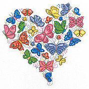Once Upon a Butterfly - Cross Stitch Pattern