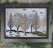 Silver Landscape - Cross Stitch Pattern