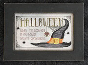 Halloween Cobwebs - Cross Stitch Pattern