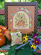 Pumpkin Harvest - Cross Stitch Pattern