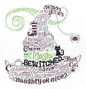 Let's Be Wicked - Cross Stitch Pattern