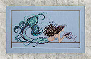 Mermaid Undine - Cross Stitch Pattern