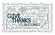 Let's Be Thankful - Cross Stitch Pattern