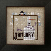 Joyful Journal - January - Cross Stitch Pattern