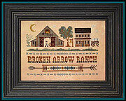 Broken Arrow Ranch (Tumbleweeds) - Cross Stitch Pattern