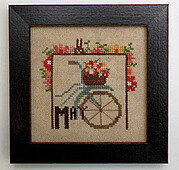 Joyful Journal - May - Cross Stitch Pattern
