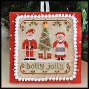 Holly Jolly - Classic Collection 8 - Cross Stitch Pattern