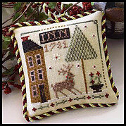 Deer Valley Inn (Sampler Tree) - Cross Stitch Pattern