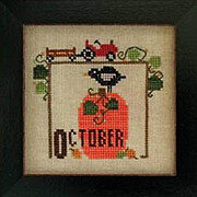 Joyful Journal - October - Cross Stitch Pattern