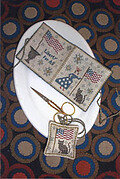 Lady Liberty Needle Book & Fob - Cross Stitch Pattern