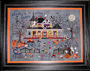 Seedy Pumpkin Cottage - Cross Stitch Pattern