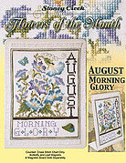 Flowers of the Month August - Cross Stitch Pattern