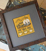 Give Thanks - Cross Stitch Pattern