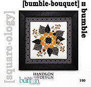 Squareology Bumble - Bumble Bouquet - Cross Stitch Pattern