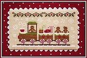 Gingerbread Train - Gingerbread Village 1