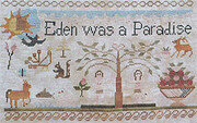 Jenny Bean Adam & Eve Parlor 2 - Cross Stitch Pattern
