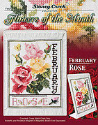 Flowers of the Month - February - Cross Stitch Pattern