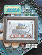 Oh Whale - To The Beach 1 - Cross Stitch Pattern