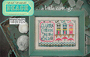 Little Cottage, A - To The Beach 2 - Cross Stitch Pattern