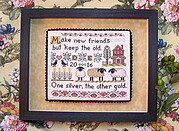 On Friendship - Cross Stitch Pattern