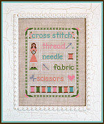 Stitching Time - Cross Stitch Pattern
