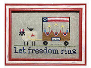 The Sheep Peddler - Let Freedom Ring - Cross Stitch Pattern