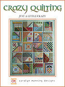 Just a Little Crazy - Crazy Quilting - Cross Stitch Pattern