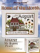 Home of the Month - August - Cross Stitch Pattern