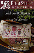 Sampler Lessons - Lesson One - Cross Stitch Pattern