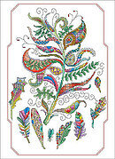 Light as a Feather - Cross Stitch Pattern