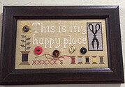 This is My Happy Place - Cross Stitch Pattern