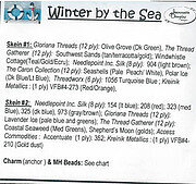Winter by the Sea Embellishment Pack