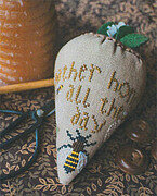 Honey Berry (LINEN) - Cross Stitch Pattern