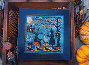 Witch's Night Out - Cross Stitch Pattern