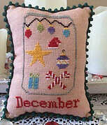 What's in Your Jar? - December - Cross Stitch Pattern